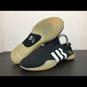 Women's Adidas Originals Black Taekwondo Shoes 7